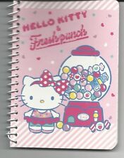 Sanrio Hello Kitty and Fresh Punch Spiral Notebook Bubblegum