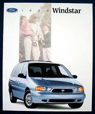 Prospekt brochure 1998 Ford Windstar (USA)