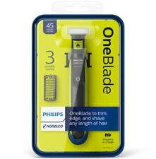 Philips Norelco OneBlade hybrid electric trimmer and shaver, QP2520/70 one blade