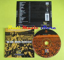 CD 70 -80 ROCK CLASSICS compilation 2001 SANTANA FREE RAM JAM (C5) no mc lp vhs