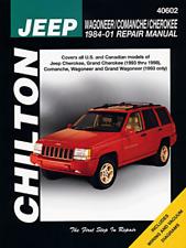 Jeep Wagoneer / Comanche / Cherokee (1984-2001) - Repair Manual Chilton