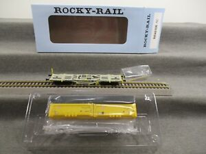 Rocky-Rail H0 RR40108 AC Güterwagen Containertragwagen beladen DB in OVP