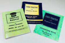FORD 9N TRACTOR SERVICE PARTS OPERATORS INSTRUCTIONS MANUAL FERGUSON SYSTEM SET