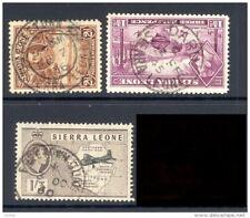 SIERRA LEONE, postmarks FREETOWN, DARU, FREETOWN QUAYS (D)