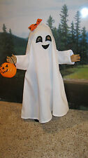 "Halloween Ghost Costume for 18"" Dolls Clothes American Girl Handmade USA"