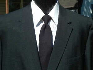 Vtg 50's Bond Men RAT PACK Jacket BLACK MaD Sport Coat ROCKABILLY Blazer 44 S