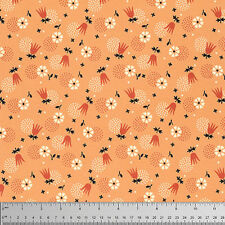 Denyse Schmidt Eastham Tulip Burst Fabric in Bittersweet PWDS100 100% Cotton