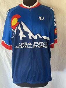 Pearl Izumi Cycling Bike Jersey USA PRO CHALLENGE Colorado 2014 Men's X-Large