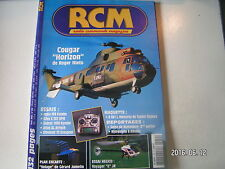 """** RCM n°252 Plan encarté Oiseau """" Indoor """" / Altus XL Airtech / Voyager """"E"""" JR"""