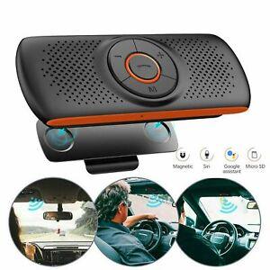 Sun Visor Wireless Bluetooth Hands Free Car Kit Speakerphone Speaker Phone