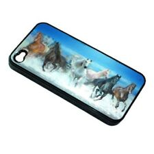 3D HOLOGRAM HARD TOUGH CASE FOR iPHONE 4S 4 Horses running