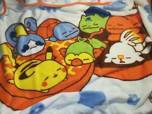 Pokemon blanket 90cm×80cm Novelty【Not Available in Stores】From Japan
