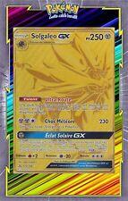 Solgaleo GX Full Gold -SL05:Ultra Prisme- 173/156 -Carte Pokemon Neuve Française