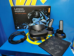 VR -realidad aumentada-Lenovo Explorer Mixed Reality Headset and Controllers