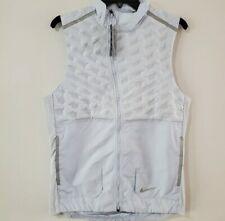 New (Men's Size M) Nike Aeroloft Running Gray 3M ($180) Vest Gilet (BV4862-085)