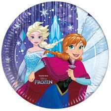 Die Eiskönigin 8 Pappteller Partyteller Teller Partygeschirr Party Disney Fozen