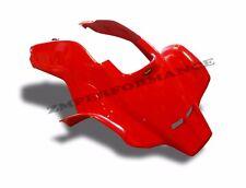 NEW HONDA TRX 250R 86 - 89 FIGHTING RED PLASTIC VENTED RACE FRONT FENDER TRX250R