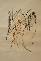Othon Friesz : der Sieg Der Don Juan - Lithografie Originell Unterzeichnet, 1949
