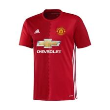 Maillot adidas Manchester United 2016 2017 Home Jersey Short Sleeves NEW