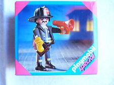 Playmobil série Spécial 4621 Pompier -  En boîte légèrement abimée - Voir photos