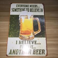 Retro Metal Tin Sign Plaque Vintage Picture Sheet Bar Pub Man Cave Beer 08