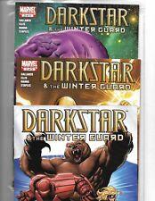 DARKSTAR & THE WINTER GUARD #1-3 COMPLETE SET MARVEL COMICS MINI-SERIES