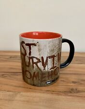 THE WALKING DEAD Just Survive Somehow Coffee Mug RARE!