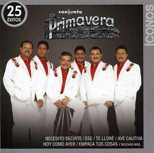 Conjunto Primavera - Iconos: 25 Exitos [New CD]