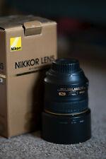 Nikon 85 mm F/1.4G Nikkor Premier objectif, fonctionne parfaitement mais Avec De Légers Dégâts.