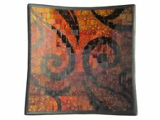 Schaal mozaiek vierkant 32cm