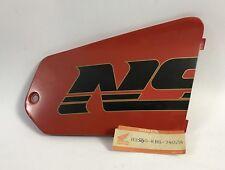 Coperchio carena Dx -  Cover fairing Rh - Honda NSR125 NOS: 83560-KBS-740ZA