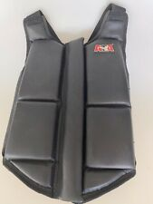Ata Black Taekwondo Martial Arts Sparring Chest Protector/Med Adult