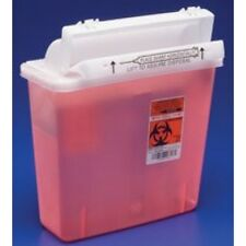 10 Each 5 Quart Sharp Needle Disposable Container With Lid Doctor Tattoo Sharps