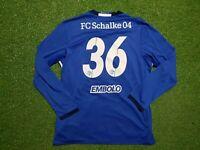 FC Schalke 04 Trikot XXL 2017 2018 Adidas Football Shirt Jersey Gazprom Embolo