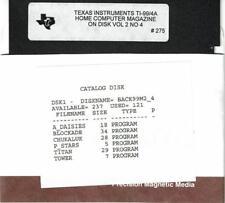VTG 1985 HOME COMPUTER MAGAZINE VOL 2 NO 4 PROGRAMS ON DISK TI-99/4A   #275