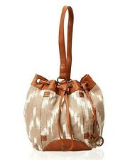 NWT $88 Lucky Brand Bali Hai Bucket Sling Bag Oyster