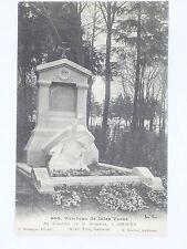 Amiens Tombeau JULES VERNE Cimetiere CARTE POSTALE CPA 80 Somme Albert Roze 1910