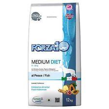 Forza 10 Medium Diet Al Pesce 12 kg Per Cani