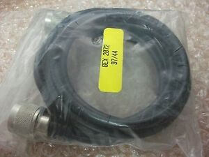 2X RF Microwave GEX 2072 Cable 2 Meters N-Type Male to N-Type Male Connectors