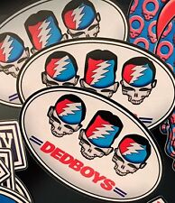 Dedboys Parody Decal Grateful Dead And Company Inspired Vinyl Sticker