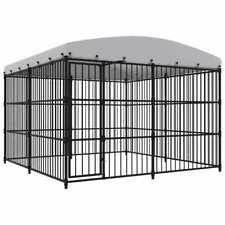 Vidaxl Canile da esterno con tetto 300x300x210 cm Gabbia recinzione per cani