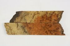 Exotic Wood Burl Knife Scales Handle Material Blank Grips Lumber 0.6x2.4x11