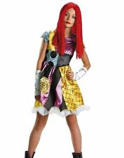 Tween Sally Costume Burton's Nightmare Before Christmas Teen - L 10-12 - Fast -