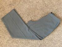 Norton McNaughton Olive Green Slacks Flat Front Women's Dress Pants Size 12