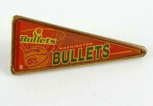 Vintage NBA Basketball Washington Bullets Eastern Conference Pin RARE HTF