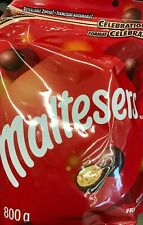 MALTESERS RESEALABLE CELEBRATION BAG 800gr FREE SHIP MADE IN CANADA