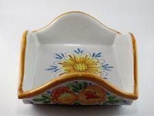 Porta tovaglioli portasalviette in ceramica di Caltagirone L19x19 cm