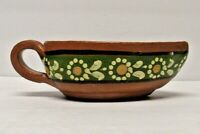 Traditional Tlaquepaque Mexican Redware Red Clay Bowl