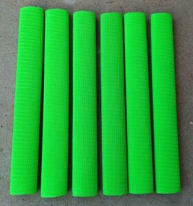 6x RINGLINE Cricket Bat Grip - FLURO GREEN - Oz Stock