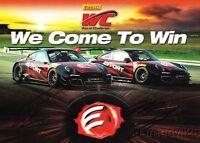 2015 Effort Racing 1st issued Porsche 911 signed SCCA PWC postcard Dalziel Lewis